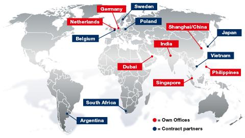 Worldwide service - Freudenberg Techincal Supply